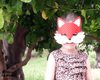 Fox Mask & Tail Pattern - Dolls And Daydreams - 2