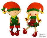 Elf Clothes Sewing Pattern - Dolls And Daydreams - 1