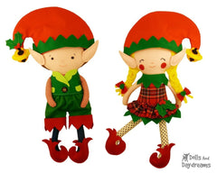 Elf Clothes Sewing Pattern