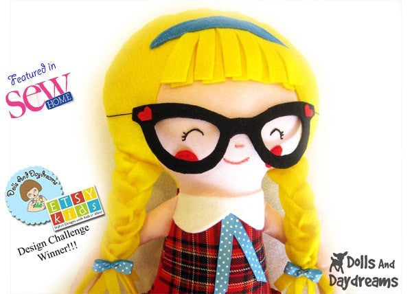 Schoolgirl Sewing Pattern - Dolls And Daydreams - 2