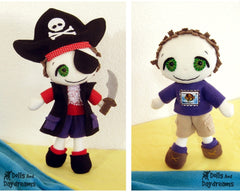 Freddy the Pirate Sewing Pattern