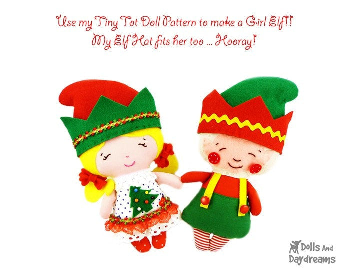 Elf Sewing Pattern Dolls And Daydreams