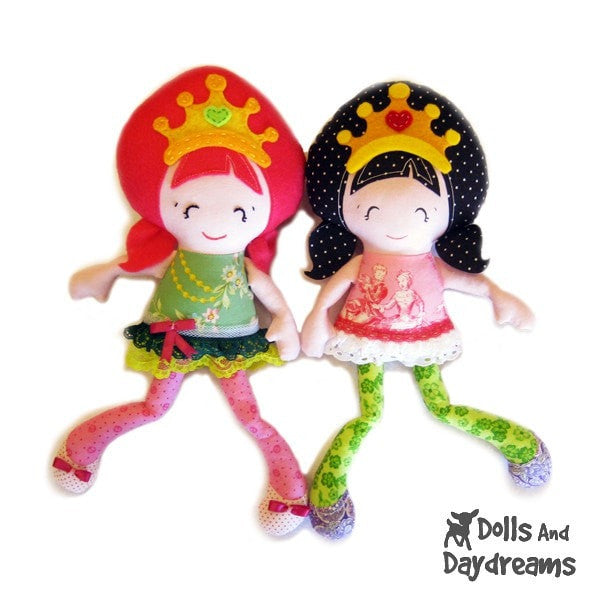Pocket Princess Sewing Pattern - Dolls And Daydreams - 3