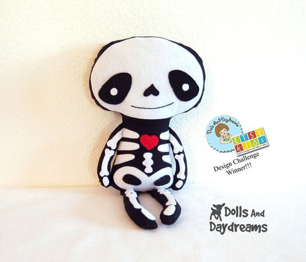 Skeleton Sewing Pattern - Dolls And Daydreams - 2