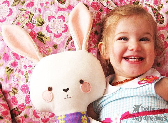 Bunny Rabbit Sewing Pattern - Dolls And Daydreams - 7