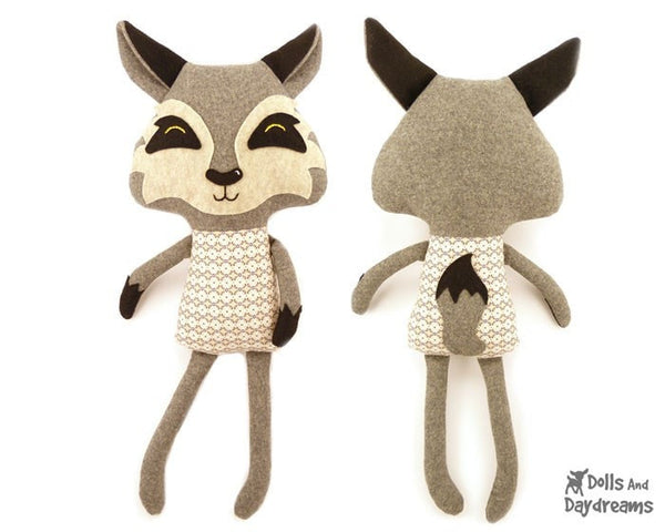 Wolf Sewing Pattern - Dolls And Daydreams - 3