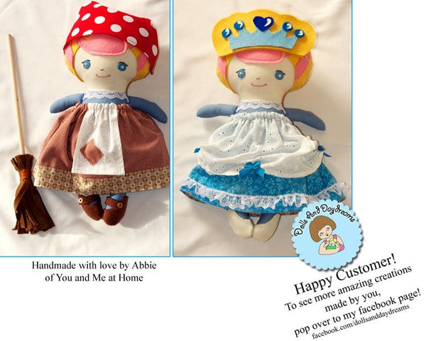 Cinderella Sewing Pattern - Dolls And Daydreams - 4