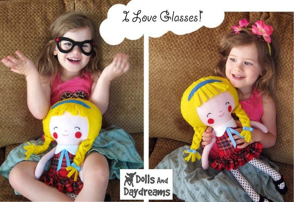 Schoolgirl Sewing Pattern - Dolls And Daydreams - 3