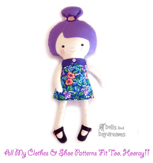 Ballerina Sewing Pattern - Dolls And Daydreams - 6