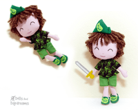 Peter Pan Sewing Pattern - Dolls And Daydreams - 1
