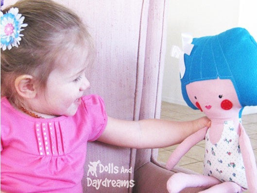 Dress Up Doll Sewing Pattern - Dolls And Daydreams - 3