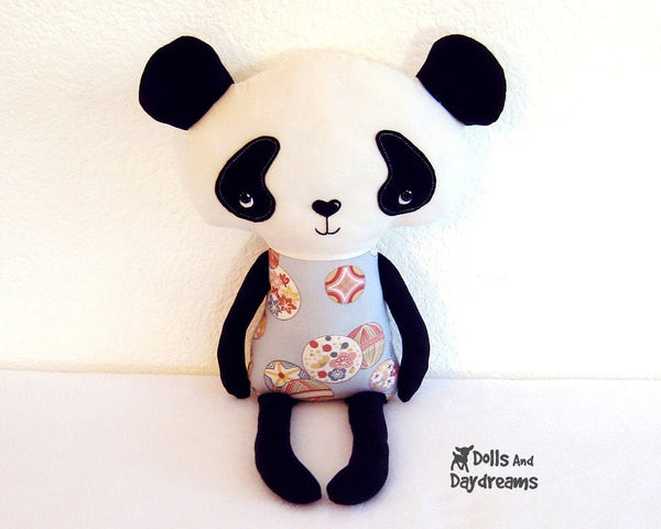 Panda Sewing Pattern - Dolls And Daydreams - 2