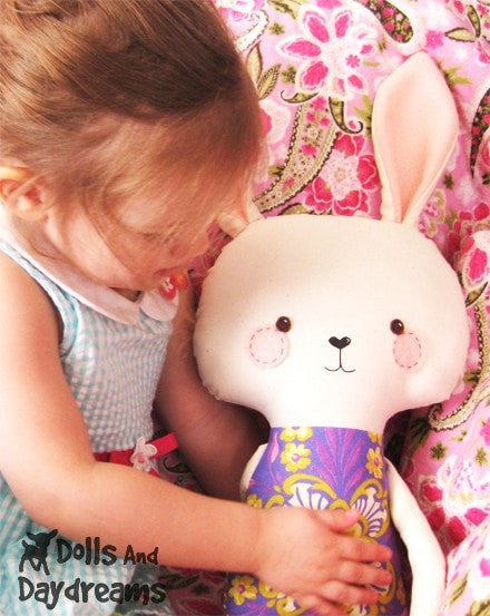Bunny Rabbit Sewing Pattern - Dolls And Daydreams - 4