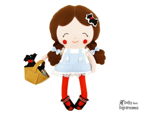 Dorothy Sewing Pattern - Dolls And Daydreams - 1