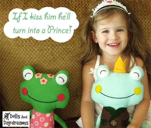 Frog Prince Sewing Pattern - Dolls And Daydreams - 3