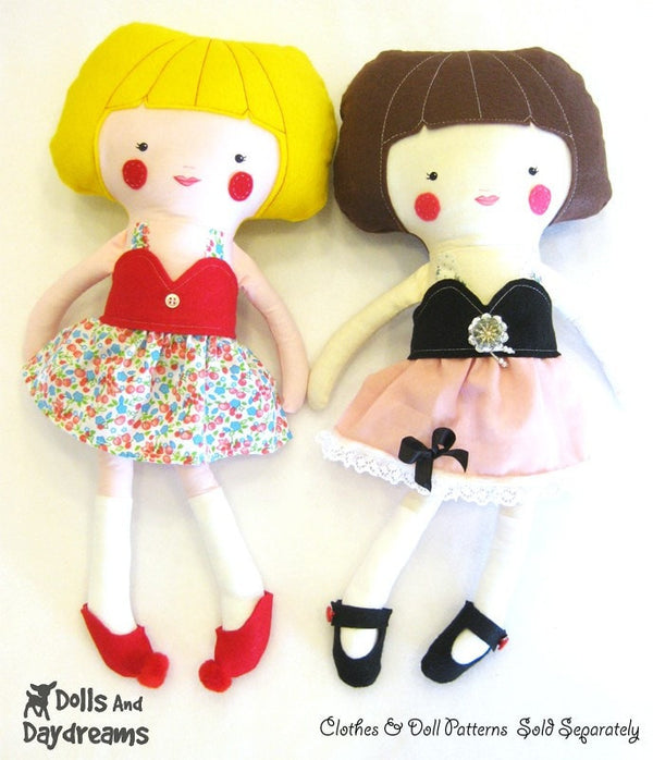 Doll and Toy Shoe Sewing Patterns - Dolls And Daydreams - 4