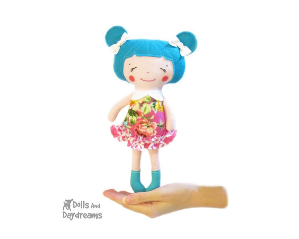 Little Sister Sewing Pattern - Dolls And Daydreams - 1