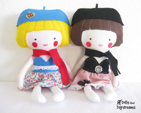 Dress Up Doll Sewing Pattern - Dolls And Daydreams - 2