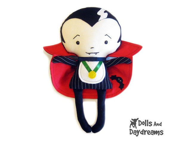 Vampire Sewing Pattern - Dolls And Daydreams - 2