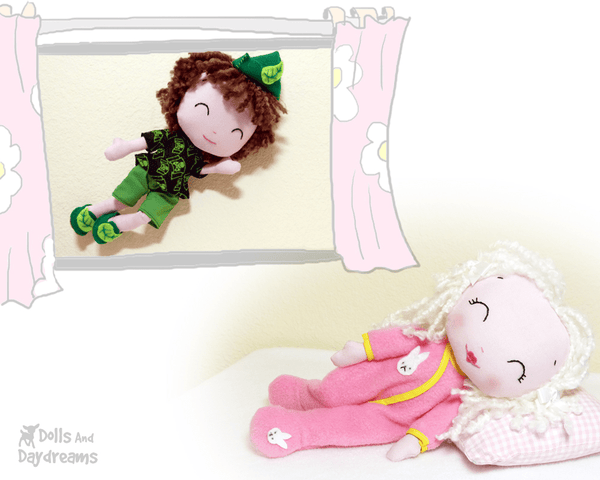 Poppet PJ Sewing Pattern - Dolls And Daydreams - 4