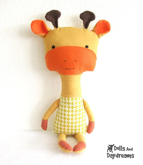 Giraffe Sewing Pattern - Dolls And Daydreams - 2