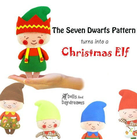 Elf Sewing Pattern - Dolls And Daydreams - 2