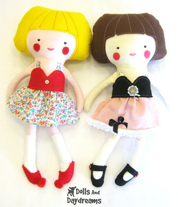 Skirt, Top and Scarf Sewing Pattern - Dolls And Daydreams - 5