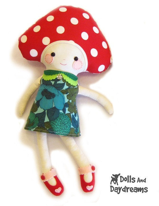 Retro Doll Dress Sewing Pattern - Dolls And Daydreams - 6