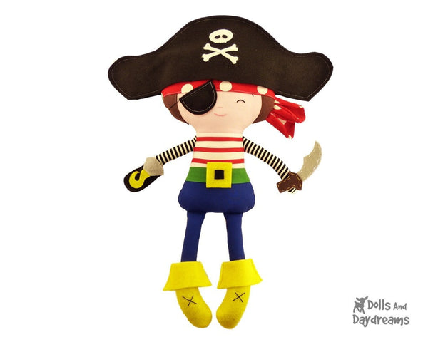 Pirate Sewing Pattern - Dolls And Daydreams - 3