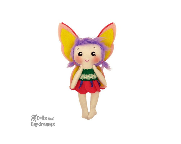 Tinkerbell Fairy Sewing Pattern - Dolls And Daydreams - 4