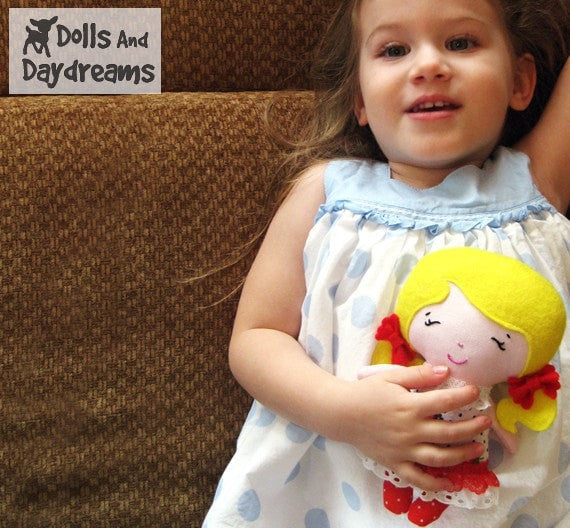 Tiny Tot Sewing Pattern - Dolls And Daydreams - 4
