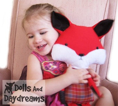 Fox Sewing Pattern - Dolls And Daydreams - 5