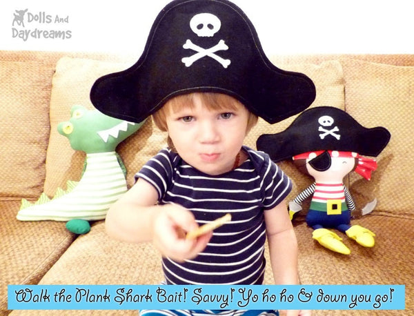 Pirate Sewing Pattern - Dolls And Daydreams - 4