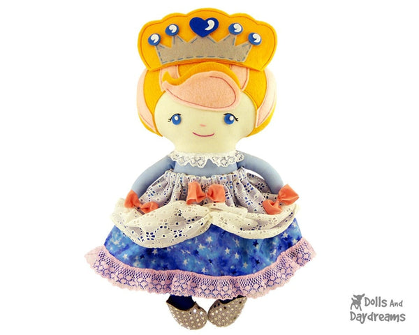 Cinderella Sewing Pattern - Dolls And Daydreams - 1
