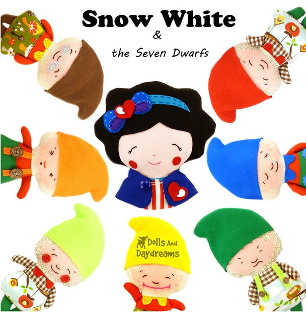 Snow White Sewing Pattern - Dolls And Daydreams - 5