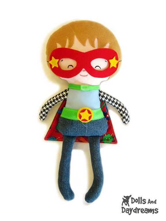 Superhero Sewing Pattern - Dolls And Daydreams - 2