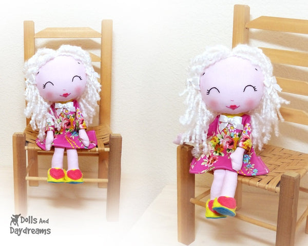 Wendy Poppet Sewing Pattern - Dolls And Daydreams - 2