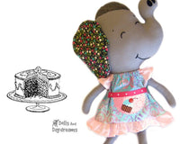 Peasant Dress Sewing Pattern - Dolls And Daydreams - 1