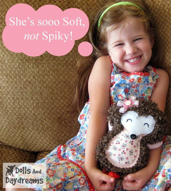Hedgehog Sewing Pattern - Dolls And Daydreams - 5