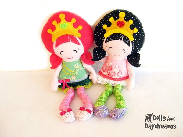 Pocket Princess Sewing Pattern - Dolls And Daydreams - 7
