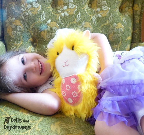 Guinea Pig Sewing Pattern - Dolls And Daydreams - 3