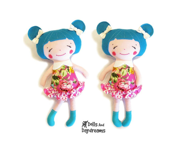 Little Sister Sewing Pattern - Dolls And Daydreams - 2