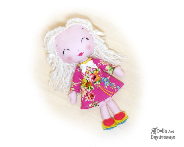 Wendy Poppet Sewing Pattern - Dolls And Daydreams - 3