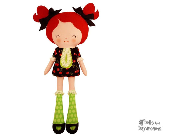 Miss Tippy Toes Sewing Pattern - Dolls And Daydreams - 2