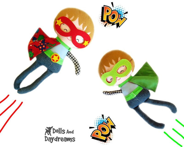 Superhero Sewing Pattern - Dolls And Daydreams - 5