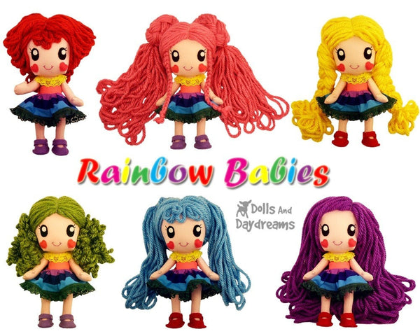 Rainbow Babies Play Set - Dolls And Daydreams - 3