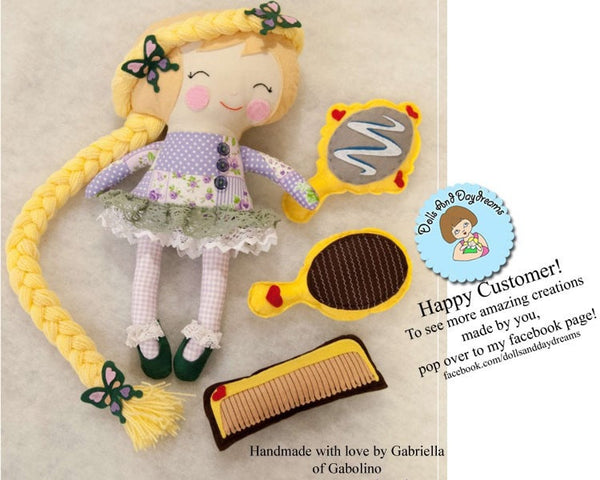 Rapunzel Sewing Pattern - Dolls And Daydreams - 5