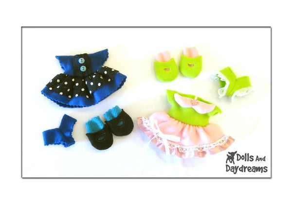Fefe Fleece Dolly Sewing Pattern - Dolls And Daydreams - 4