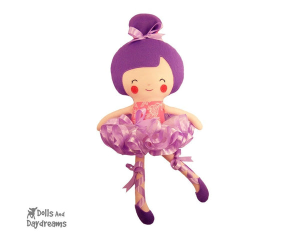 Swan Princess Doll Clothes Sewing Pattern - Dolls And Daydreams - 3