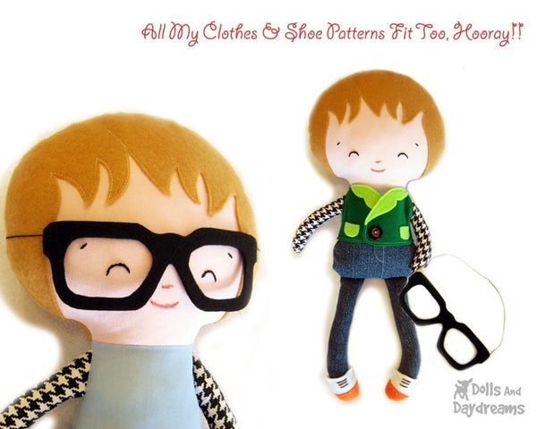 Superhero Sewing Pattern - Dolls And Daydreams - 4